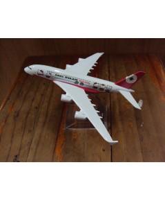 โมเดลเหล็ก เครื่องบินโดยสาร EVA AIR Airlines Boeing 737 16 เซ็นติเมตร