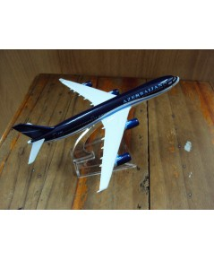 โมเดลเหล็ก เครื่องบินโดยสาร AZERBAIJAN AIR Airlines Boeing 737 16 เซ็นติเมตร