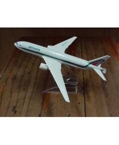 โมเดลเหล็ก เครื่องบินโดยสาร ALITALIA Airlines Boeing 737 16 เซ็นติเมตร