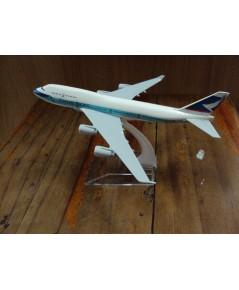 โมเดลเหล็ก เครื่องบินโดยสาร CATHAY PACIFIC Airlines Boeing 737 16 เซ็นติเมตร