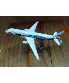 โมเดลเหล็ก เครื่องบินโดยสาร BANGKOK AIR Airlines Boeing 737 16 เซ็นติเมตร