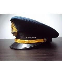 หมวกหม้อตาลทหารอากาศ ชั้นสัญญาบัตร Royal Thai Air Force cap, hat Soldier hat For Commissioned office