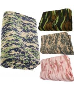ผ้าห่มผ้าขนสัตว์สีเทาอบอุ่นฤดูหนาวผ้าห่ม Camping 60 นิ้ว x 80นิ้ว เลือกสีแบบใดแบบหนึ่ง