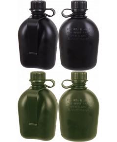 กระติกน้ำสนาม GI กองทัพสหรัฐ Mil Spec 3 ชิ้น 1 Quart Canteen กับ Belt Clip เลือกแบบ 1 ชิ้น