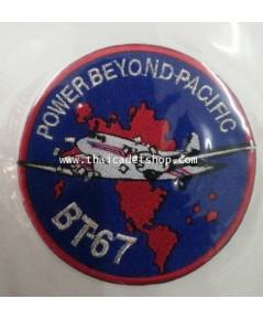 อาร์มผ้ากองทัพอากาศ BT-67 พิษณุโลก