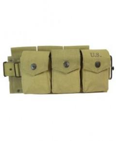 ซองกระสุนปืนทหารอเมริกา M1942 BAR Ammo Belt