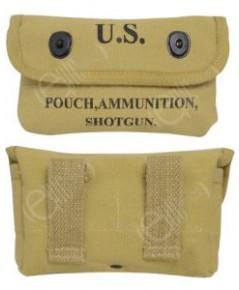 ซองกระสุนปืนทหารอเมริกา Shotgun Ammunition Pouch
