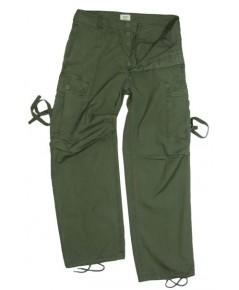 กางเกงทหารอเมริกา สงครามเวียดนาม US Olive Green Tropical/Jungle Trousers - Vietnam Era
