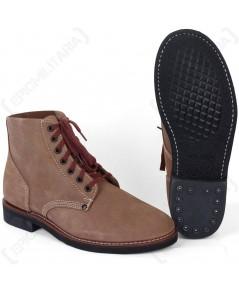 รองเท้าพลร่มทหารอเมริกา สงครามโลกครั้งที่ 2 American \'Rough Out\' Ankle Boots