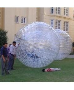 ลูกบอลน้ำ zorbing human hamster