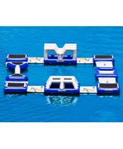 สวนน้ำสีฟ้าพองใหญ่ AP74 เกรดพรีเมี่ยม