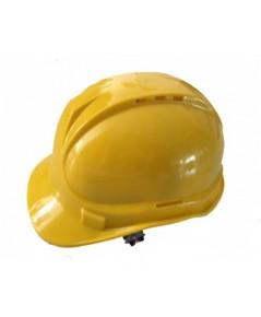 หมวกเซฟตี้ หมวกนิรภัย หมวกก่อสร้าง ปรับหมุน ยึด 6 จุด รัดคางยางยืดมีรูระบายอากาศด้านบน