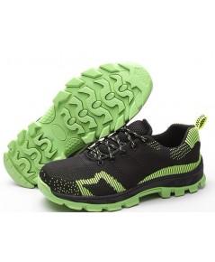 รองเท้าผ้าใบเซฟตี้ รองเท้าผ้าใบนิรภัย ยี่ห้อร็อคโค่ ROCCO GreenLine รุ่นกรีนไลน์