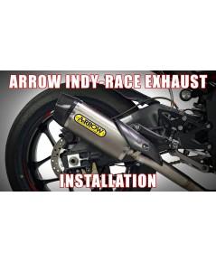 ท่อ Arrow half system Indy Race + Ypipe สำหรับ R1 ปี 2015 ขึ้นไป