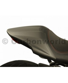 Carbon world- คาร์บอนครอบเบาะ (Seat cover carbon) สำหรับ Monster 821 2018+