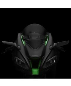 กระจกข้าง Rizoma รุ่น stealth ทำหน้าที่เป็นเหมือนสปอยเลอร์ สร้างแรงกด downforce สำหรับ ZX10 2016+