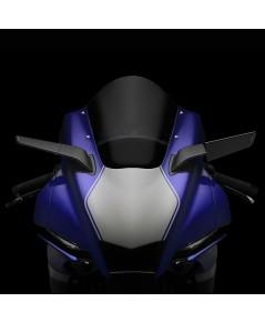 กระจกข้าง Rizoma รุ่น stealth ทำหน้าที่เป็นเหมือนสปอยเลอร์ สร้างแรงกด downforce สำหรับ R1 2020+