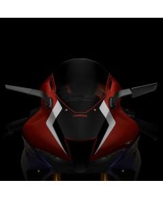 กระจกข้าง Rizoma รุ่น stealth ทำหน้าที่เป็นเหมือนสปอยเลอร์ สร้างแรงกด downforce สำหรับ CBR1000 2021+