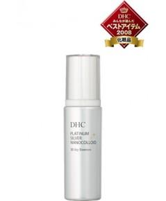DHC Platinum silver nanocolloid milky essence 80ml บำรุงลึกสู่ผิว ช่วยให้ผิวดูขาวสดใส
