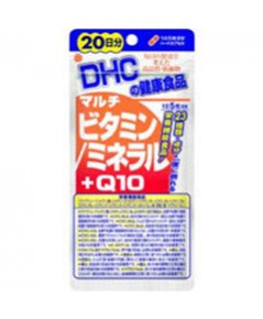 DHC Multivitamin Mineral +Q10 วิตามินและแร่ธาตุรวม ผสม Q10 (ขนาด 20วัน) ช่วยให้สุขภาพแข็งแรงมากขึ้น