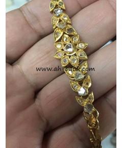 สร้อยข้อมือเพชรซีกโบราณ Peranakan nyonya jewelry
