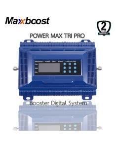 MAXBOOST digital repeater รุ่น TRI-band WRE81821P (850/1800/2100 MHz)