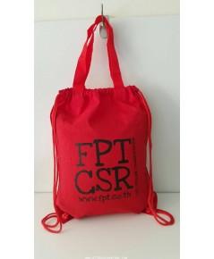 เป้สะพายหลังแบบหูรูด มีหูหิ้ว - FRT CSR