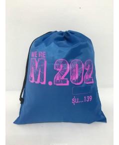 ถุงหูรูด ผ้าร่มกันน้ำ โลโก้ M202