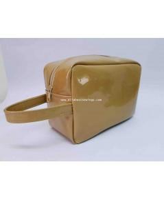 กระเป๋าใส่เครื่องสำอาง  PVC กลิตเตอร์