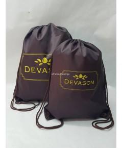 กระเป๋า ถุงหูรูดผ้าร่ม 1417 เเละ 1922 Davasom