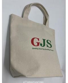 กระเป๋าผ้าเเคนวาสดิบ GJS