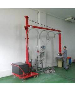 Moving jib crane VL120/20 Vaculex Vacuum lifter เครื่องช่วยยกกระสอบน้ำตาล 50 กก. ระบบสูญญากาศ