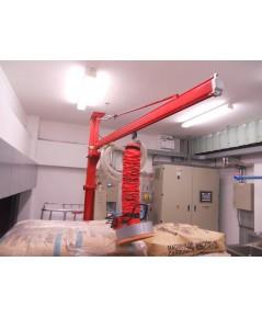 Fix Pillar jib crane VL160/203 Vaculex Vacuum lifter   เครื่องช่วยยกกระสอบกระดาษ ระบบสูญญากาศ 40 กก.