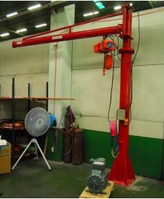 เครื่องช่วยยกแบบเครน Fix Pillar Jib Crane 3x3 M. capacity 200 Kg.