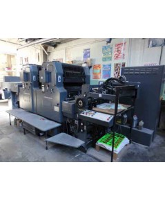 1988 Heidelberg MOZH, CPC 1-01 Alcolor, High pile delivery