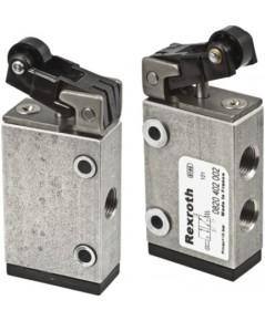 0820402102 Bosch Rexroth Roller Pneumatic Manual Control Valve,3/2 Way G 1/8,