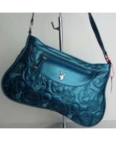 PLAYBOY LADIES GENUINE FLUX LEATHER BAG