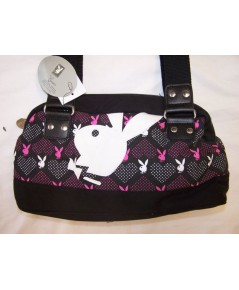 กระเป๋า PLAYBOY BUNNY BLACK PURSE