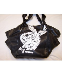 กระเป๋า PLAYBOY FAUX LEATHER WHITE BUNNY=