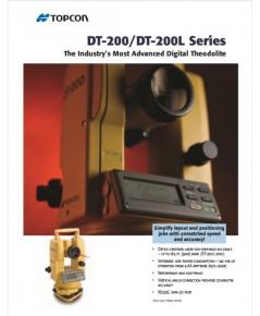 กล้องวัดมุม TOPCON รุ่น DT-205