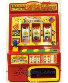 ตู้สล็อตแมชชีน (Slot Machine) ตัวใหม่มาแล้ว เล่นได้เหมือนจริง สนุกสีสันสดใส  มาวัดดวงกันเถอะ!!