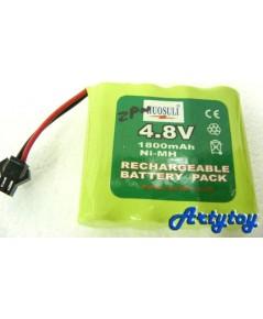 แบตเตอรี่ชาร์ตไฟบ้าน 4.8 V (ZPN)