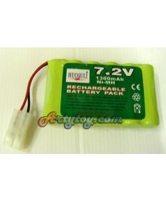 แบตเตอรี่ชาร์ตไฟบ้าน 7.2 V (ZPN)