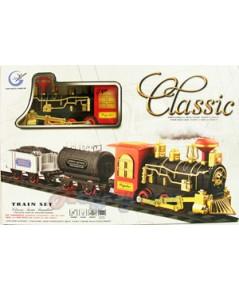 Classic Train (FPN) รุ่นใหม่ เป็นรถไฟสไตล์โบราณสุดสวย  มีไฟ มีเสียง และมีควันเวลาเล่นด้วย