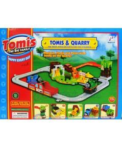 Tomis TheBigFamily ชุด Tomis  Quarry2277-18 (JNB)  หัวรถไฟน่ารักพร้อมเพื่อนๆ ช่วยกันขนก้อนถ่านหิน