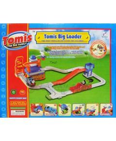Tomis TheBigFamily ชุด Tomis Big Loader2277-20 (TNB)  หัวรถไฟน่ารักพร้อมเพื่อนๆ ช่วยกันขนก้อนถ่านหิ