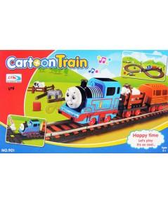 Cartoon Train (UPN) รถไฟวิ่งรางวนเลข 8 พร้อมขบวนพ่วง 2 ขบวน