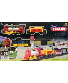 SuperTrain3648 (FLN)  รถไฟคลาสสิกสีสันสดใส มีไฟมีเสียง