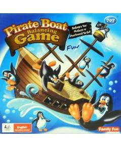 Pirate Boat Balancing Game (FUN) เกมเพนกวินตกเรือโจรสลัด สนุกสนานได้ทั้งครอบครัว