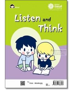 Listen and Think ฝึกฟังและคิด
